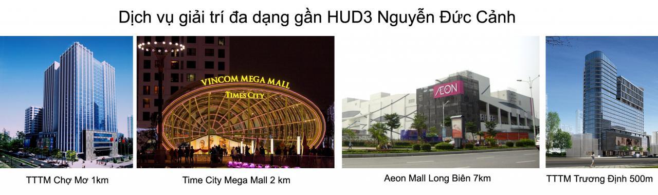 Bán Chung Cư HUD3 Nguyễn Đức Cảnh