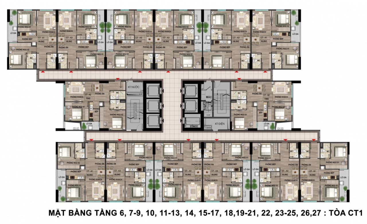 Căn hộ nhà ở xã hội Bộ Công An 43 Phạm Văn Đồng