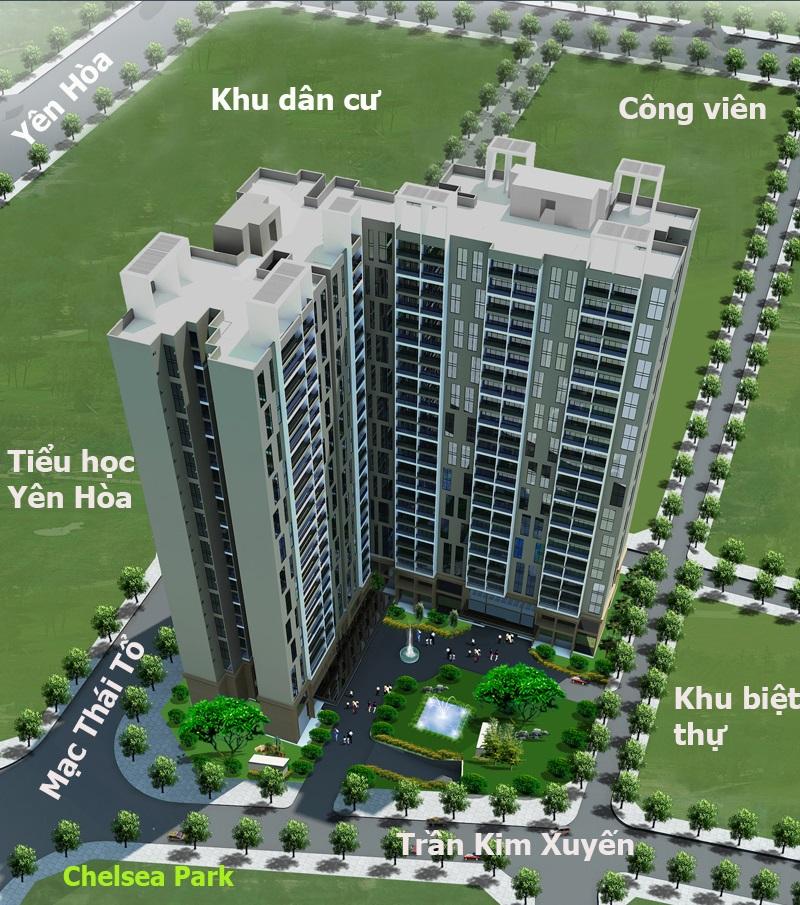 Chung cư E2 Trần Kim Xuyến - Yên Hoà