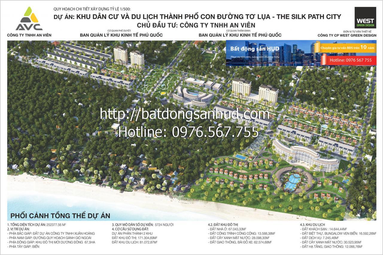 Dự án khu dân cư và du lịch Thành phố con đường Tơ Lụa The Silk Path City, Cơ hội đầu tư