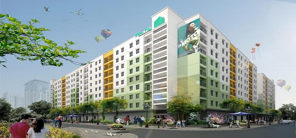 Dự án nhà ở xã hội Bắc Kỳ Yên Phong Chung cư thu nhập thấp Bắc Ninh