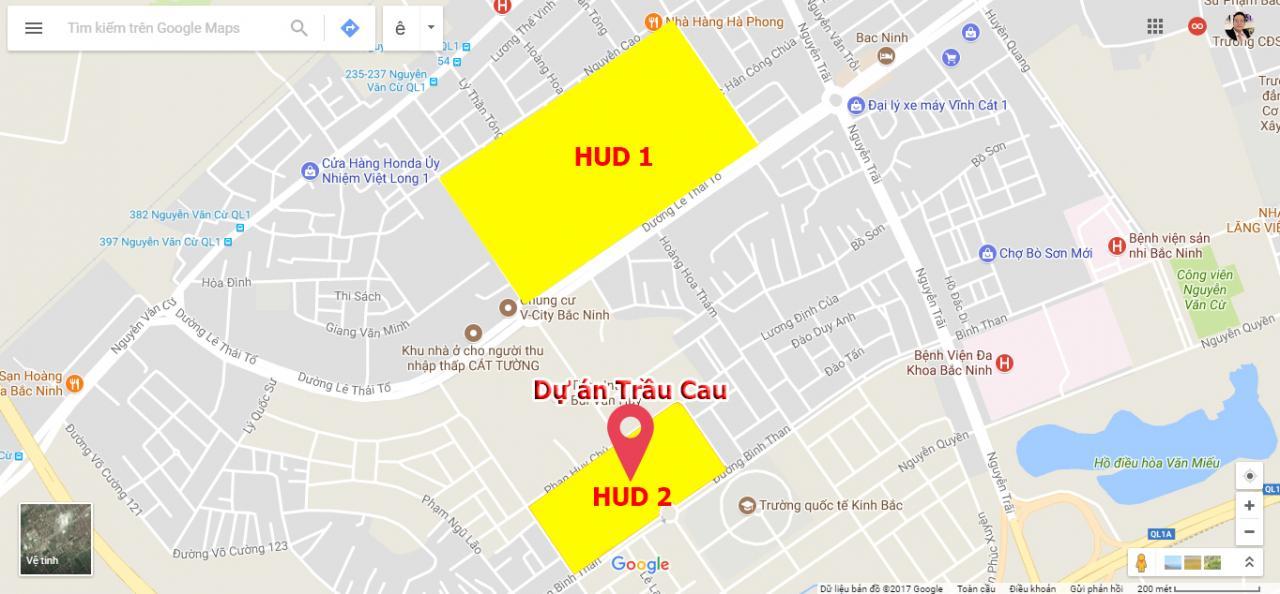 dự án Trầu Cau HudB Bắc Ninh