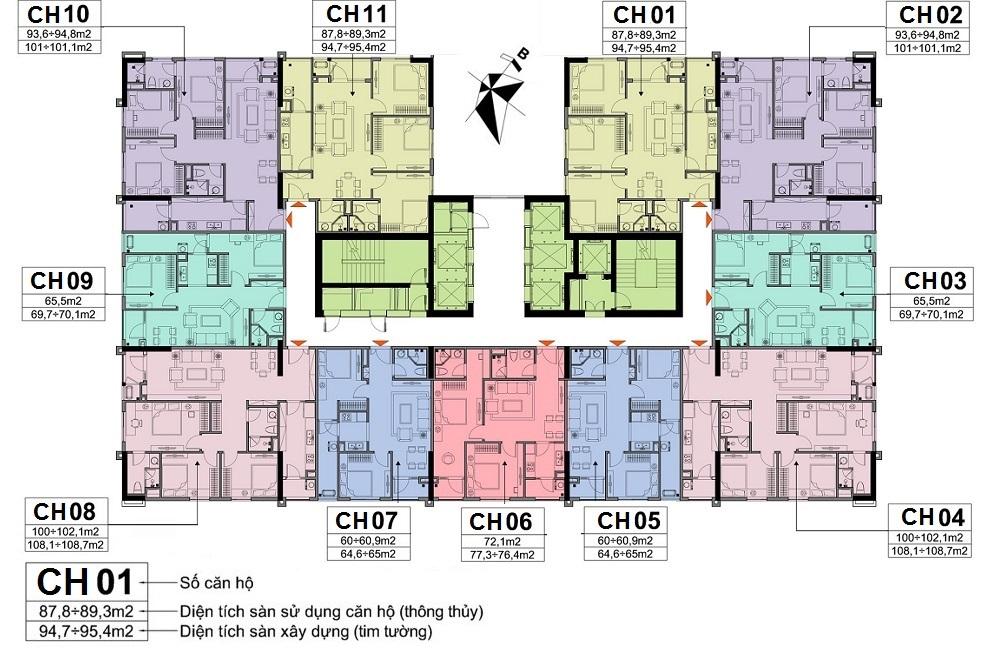 tòa CT1 và CT2