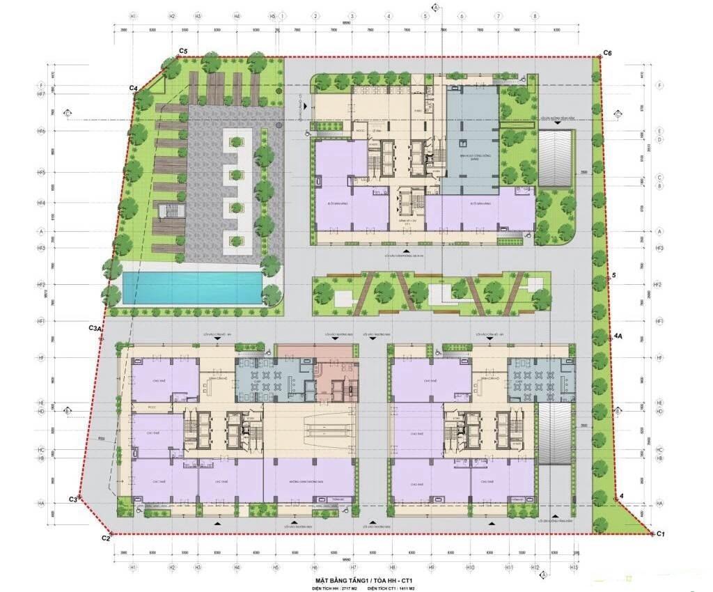 Nhà ở xã hội Bộ Công An 43 Phạm Văn Đồng