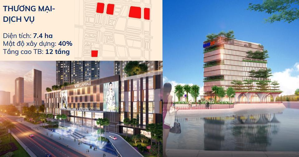 Trung tâm thương mại dự án Kim Đô