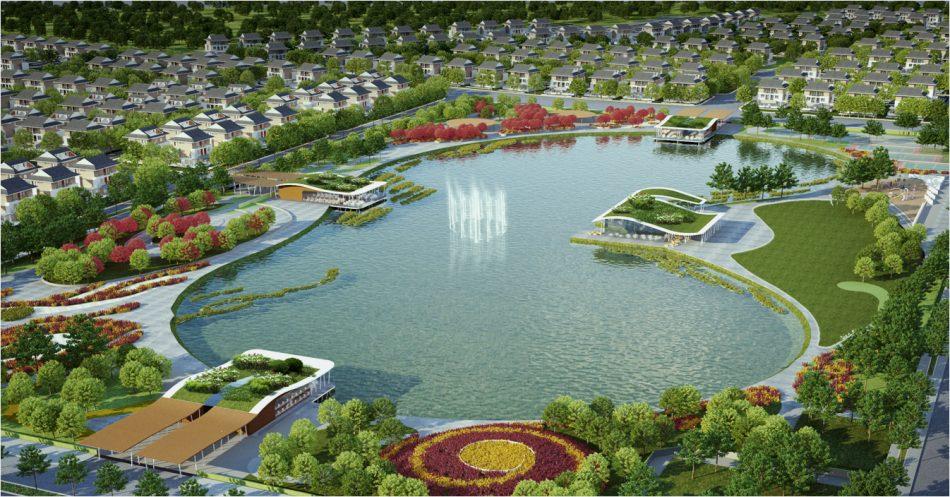 Quảng trường dự án Kim Đô