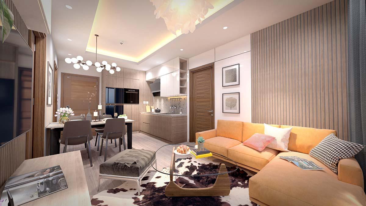 Nội thất căn hộ Hà Nội Phoenix Tower
