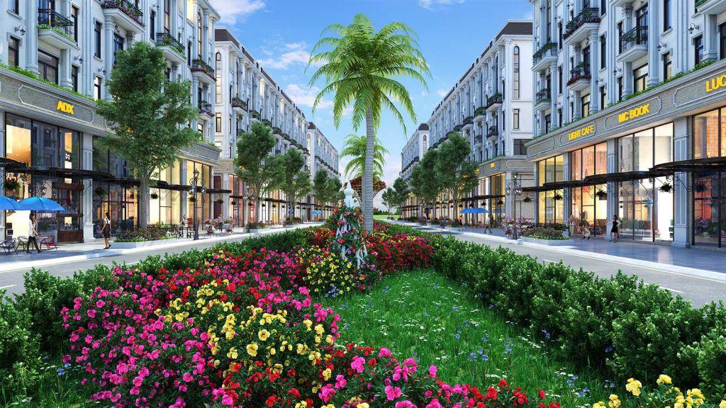 Tiện ích cây xanh, vườn hoa Dư án Him Lam đường Tố Hữu Hà Đông
