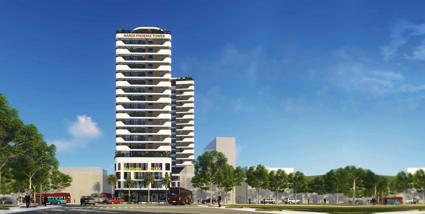 Căn hộ khách sạn chung cư Hà Nội Phoenix Tower