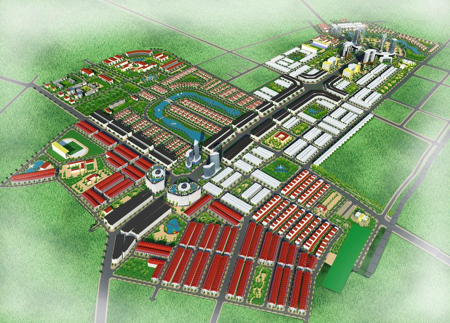 Khu Đô Thị Và Dịch Vụ Từ Sơn Garden City Bắc Ninh