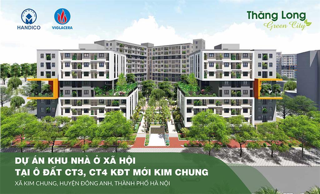 Dự án Chung cư nhà ở xã hội CT3, CT4 Kim Chung Đông Anh